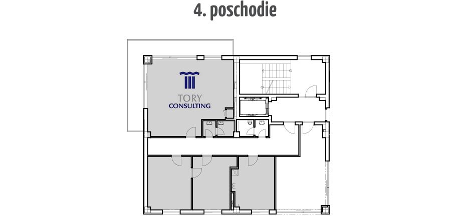 4 poschodie